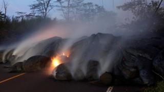 米ハワイ州のハワイ島にあるキラウェア火山は、世界で最も活発な火山の一つだ