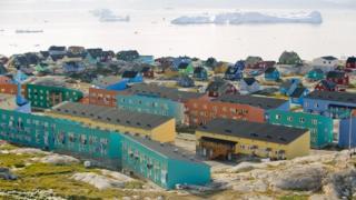 بخش کوچکی از سرزمین پهناور گرینلند توسط ساکنینش اشغال شده است