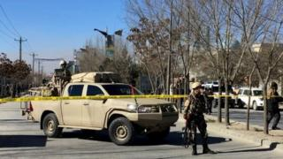 Các lực lượng quân sự phong tỏa khu vực bị tấn công