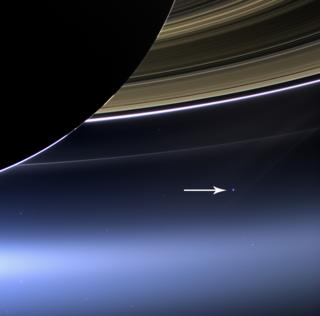 in_pictures Saturn and Earth