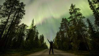 Aurora Borealis as seen from Lapland