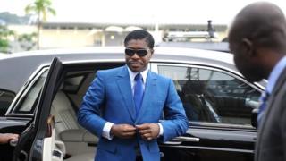 Le vice-président équato-guinéen, qui ne s'est pas présenté lors de son procès
