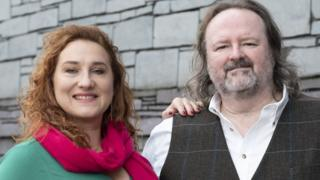 Soprano Stacey Wheeler and tenor Gwyn Hughes Jones