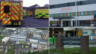 Betsi Cadwaladr hospitals in north Wales