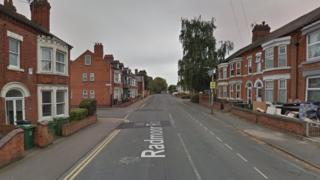 Radmoor Road in Loughborough