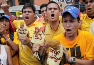 Protesta en Maracaibo