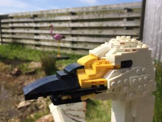 Lego swan