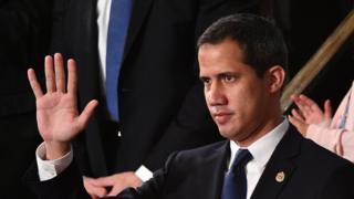 Juan Guaidó en el discurso del Estado de la Unión