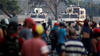 tanques na Venezuela