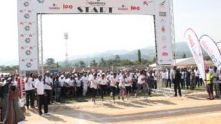 Ikarashishi Bujumbura Peace Run 2017