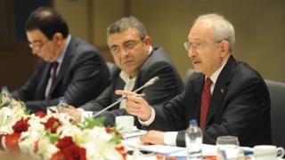 CHP Genel Başkanı Kemal Kılıçdaroğlu, İstanbul'da gazetecilerle bir araya geldi