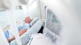 Hospital patient
