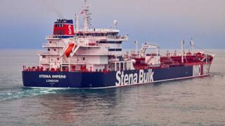 """""""斯坦納帝國號""""(Stena Impero)"""