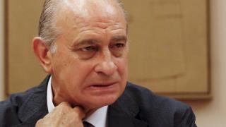Spain's Interior Minister Jorge Fernandez Diaz (file image)