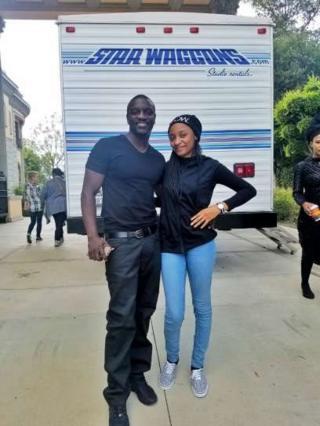 Rahama tare da Akon
