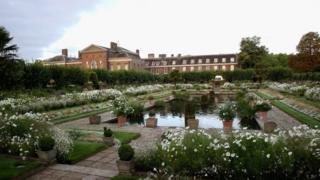 Diana's memorial garden