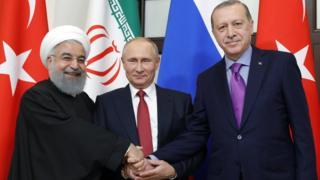ruhani putin erdogan
