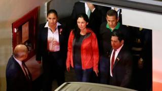 Nadine Heredia e Ollanta Humala