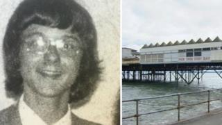 Peter Watts, and Colwyn Bay pier