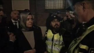 Fatma Betul Sayan Kaya avugana na polisi y'Ubuholandi