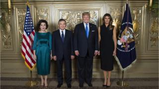 Mirziyoyev va Tramp