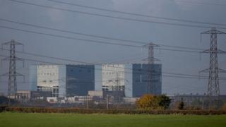 Hinkley Point power plant