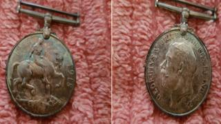 British war medal 1914-18