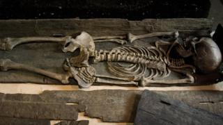 Skeleton of a Viking woman found in York