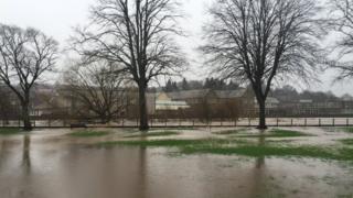 Floods in HAwick