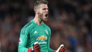 Kipa wa Man United David De Gea