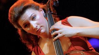 Photograph of Ms Gaillard performing in 2003