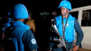 Des Casques bleus de la Minusma, en mission à Bamako (illustration).