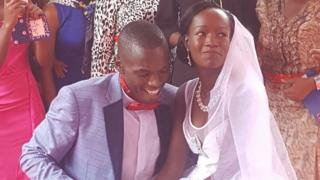 Harusi ya marudio ya Wilson na Anne imeandaliwa katika bustani ya kifahari ya Eden Bliss viungani mwa Nairobi