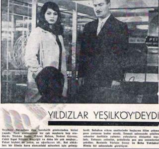 1966 yılında Türkan Şoray ve Reha Yurdakul poz vermiş.