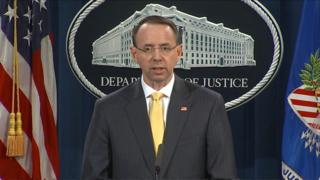 Rod Rosenstein at a podeum