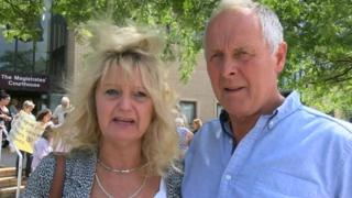 Sharon and Russell Tidnam