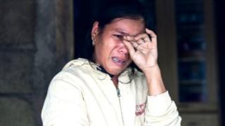 मांगखुट चक्रीवादळाने नुकसान झालं आहे