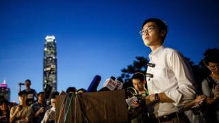 Andy Chan nói hành động của Bắc Kinh và giới chức Hồng Kông càng chứng tỏ Hồng Kông nên ly khai.