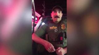 A border patrol officer in Montana who stopped two US citizens because they were speaking Spanish