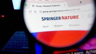 施普林格—自然集团官网(BBC中文网图片)