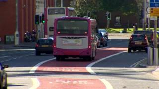 Bus lane
