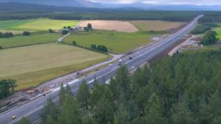 New dual carriageway on A9