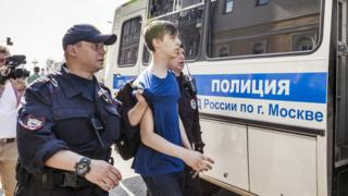 Russian teenager arrested, 5 May 18