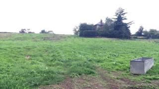 Former green belt land in Henbury