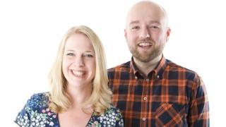 Vicki Archer and Adam Green