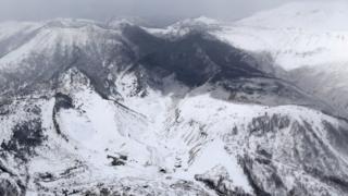 Monte Kusatsu-Shirane, Japón.