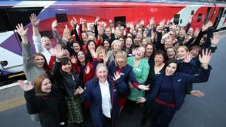 All-female crew of Flying Scotsman