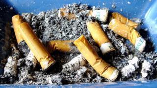 بقايا سجائر