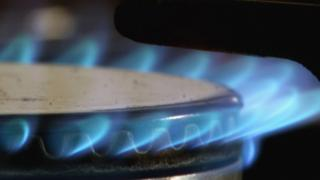 Gas ring on a hob