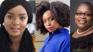 Chioma Akpota, Chimamanda Adichie na Oby Ezekwesili